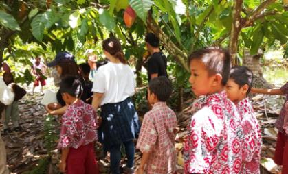 インドネシアでのアントレプレナー研修の様子