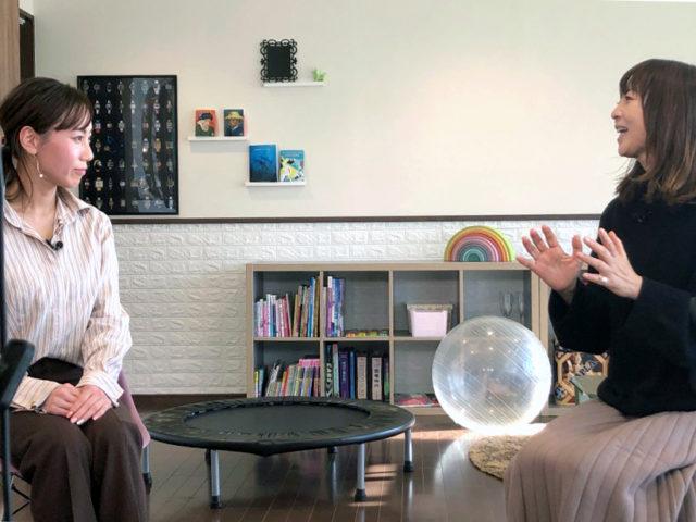 左:放課後デイサービス「HEARTY」の北川美紀さん 右:谷口キヨコさん